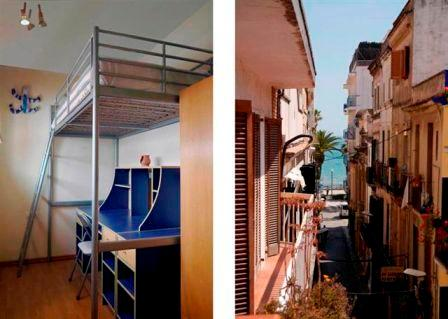 and streetview - Bobe, in the centre of Sitges, with balcony and airco. - Sitges - rentals