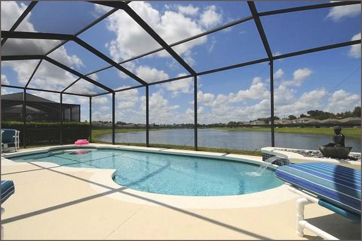 Stunning views, spacious pool area - Sunset Dream, Lake Views, Hot Tub, Disney 4 Miles - Kissimmee - rentals