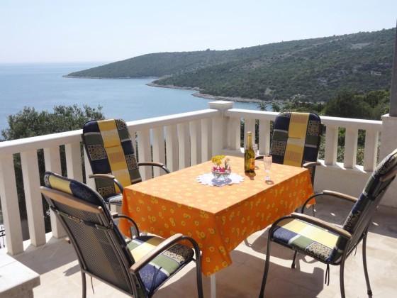 Terrace view 1 - Villa Brdar - Vinisce - rentals