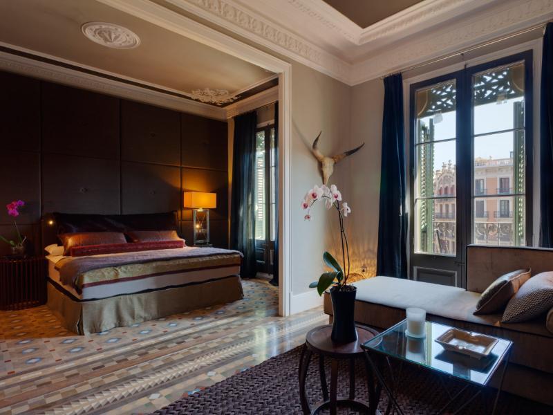 Bedroom 1 - Aragon Platinum II Barcelona (1 BR) - Barcelona - rentals