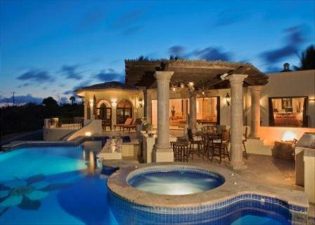 Pool View of VIlla Amor - Villa Amor 4+4 Oceanview in Cabo del Sol walking distance to the beach - Cabo San Lucas - rentals
