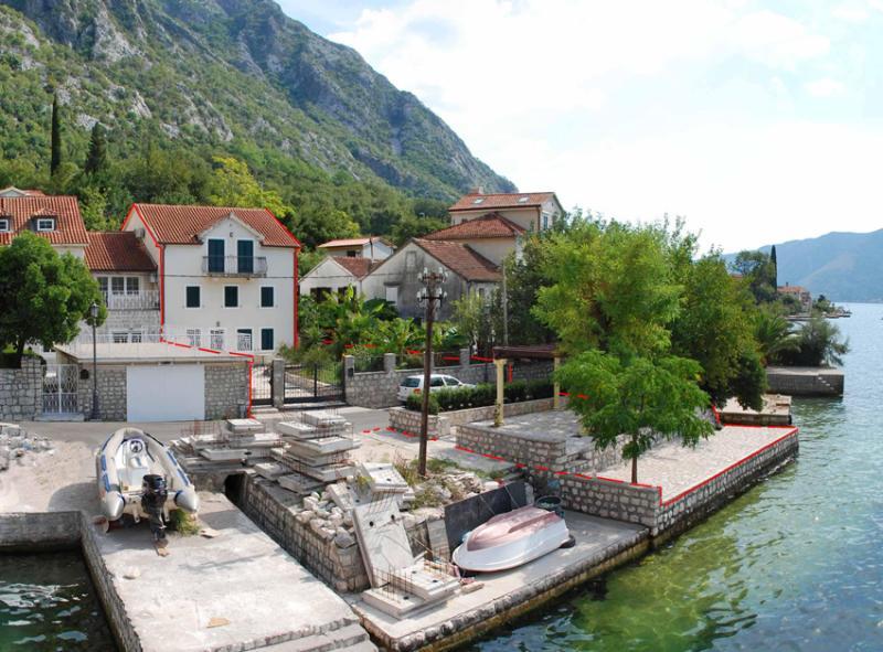 Rent A First Line Villa  - Boka Bay Fjord - Image 1 - Kotor - rentals