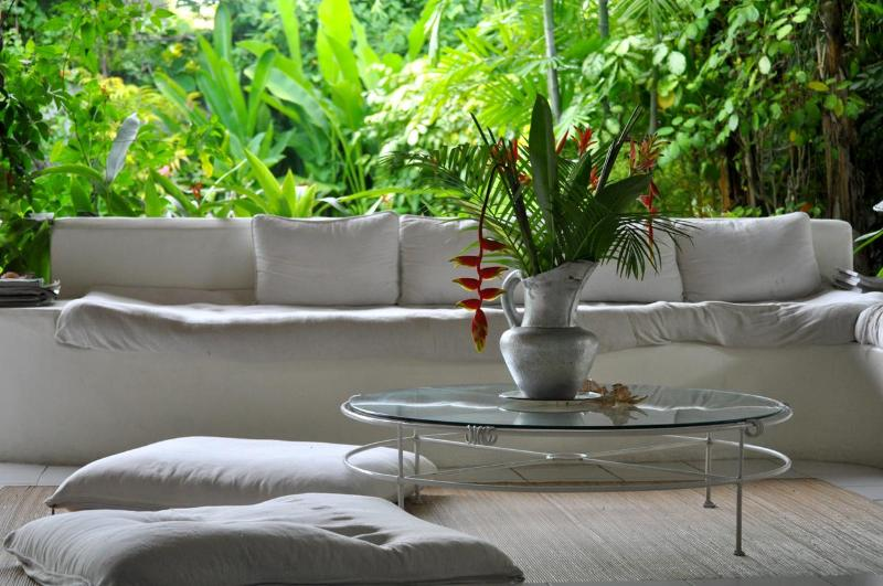 Living Room - Beautiful Bali Home Walking distance to the Beach - Legian - rentals