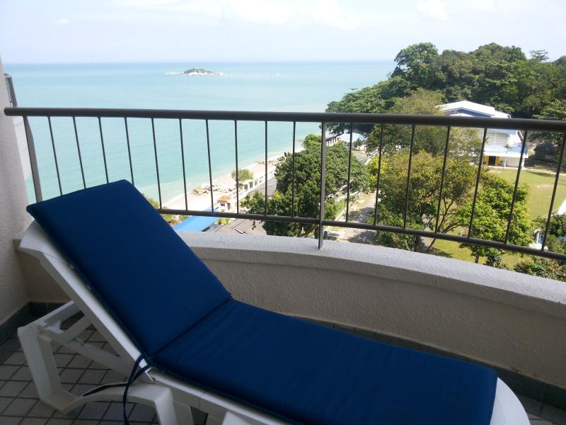 Stunning view from your balcony. Enjoy!! - **ThePlace2B** directly on the beach! - Penang - rentals