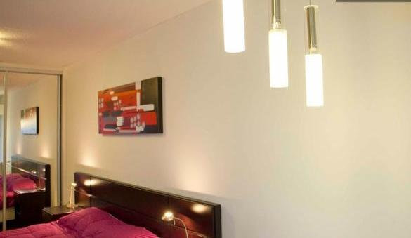 Light spots over dining tabla - New Apartment in best location !!(502) - Montevideo - rentals