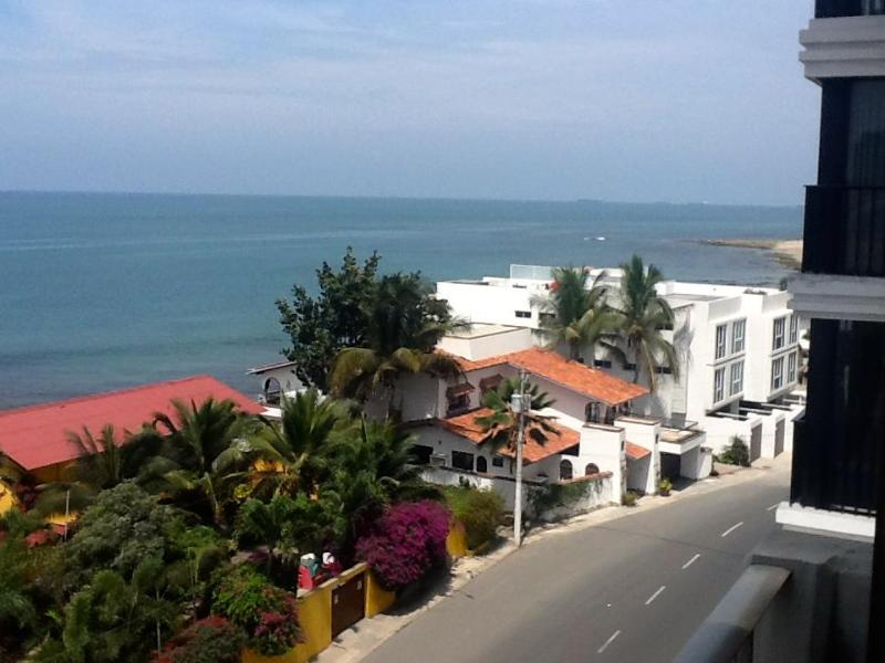 Pacific View (to the right side)from Balcony - Salinas Ecuador Ocean Front Santa Elena Province - Salinas - rentals