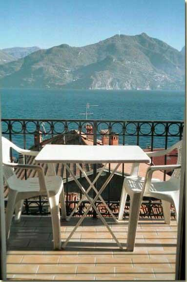 veiw from the balcony - big apartment with wonderful view lake - Menaggio - rentals