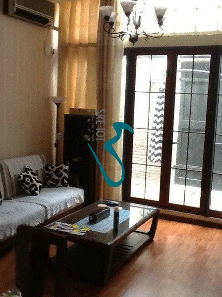 living room - Nice 1br/terrace,Nr L2 - Shanghai - rentals