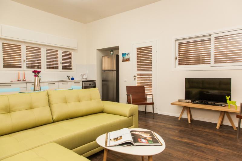 2 Bedroom Luxury Apt With Balconies & High Ceiling - Image 1 - Tel Aviv - rentals