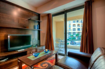 045 Portomaso, st Juians Studio Apartment - Image 1 - Saint Julian's - rentals
