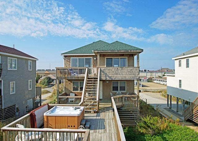full size photo 0 - KD1905- SUMMER WIND; AWESOME OCEANFRONT W/ HOT TUB - Kill Devil Hills - rentals