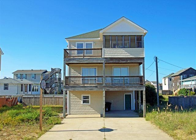 full size photo 0 - KD202- PLAYA DEL RAY; 4BDRM HOME W/ PRIVATE POOL! - Kill Devil Hills - rentals