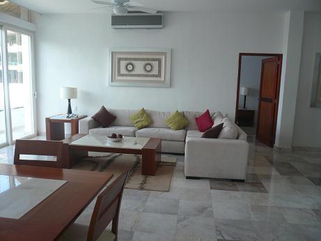 LIVING ROOM - Luxurious Condo  In  Puerto Vallarta, Mexico - Puerto Vallarta - rentals