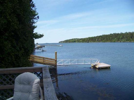View from the Deck - Seal Ledge Cottage - Great Cranberry Island - rentals