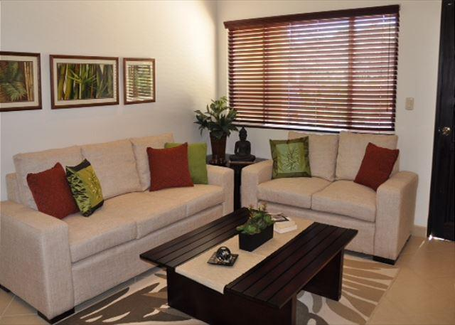 Living Room Area - 2 story luxury condo just 5 minutes from the beach! - Tamarindo - rentals