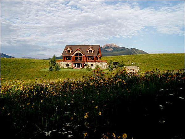 Directly West of the Ski Area - Magnificent Mountaintop Retreat - Breathtaking Panoramic Views (1378) - Crested Butte - rentals