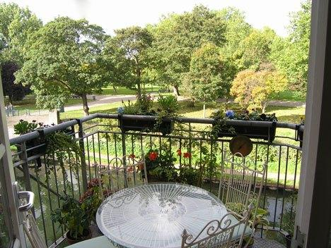 Terrace with view over Victoria park - Artillery House - London - London - rentals