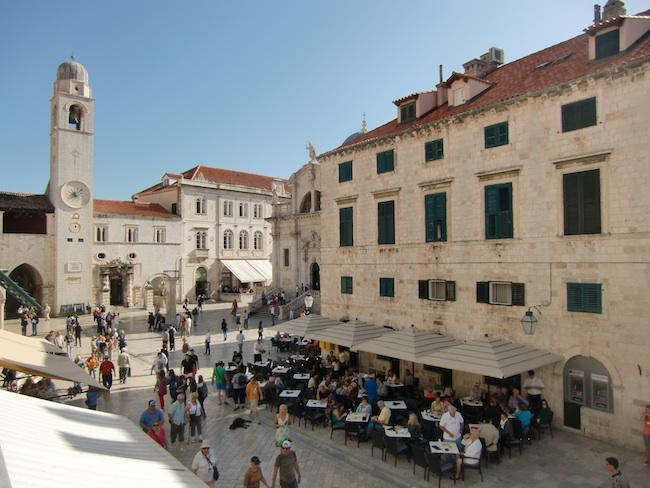 View from the window-left - Apartment Zvone in Old town Dubrovnik (2+1) - Dubrovnik - rentals