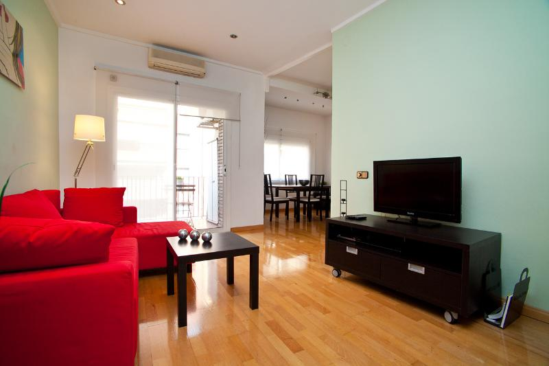 Spacious Living room - Cozy Eixample HUTB-001274 - Barcelona - rentals