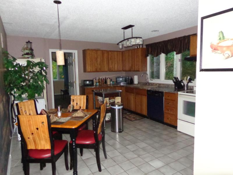 full eat in kitchen - Luxury 2 bedroom in Quiet Beaver Lake Neighborhood - Asheville - rentals