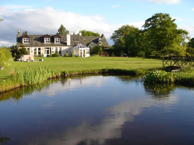 The cottage from the pond - Arguably the best location in the village - Drymen - rentals
