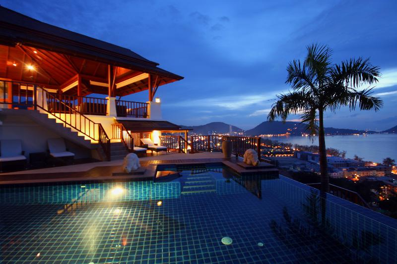 Swimming Pool, decking & Villa - A5-Phala, L'Orchidee Residences - Patong - rentals