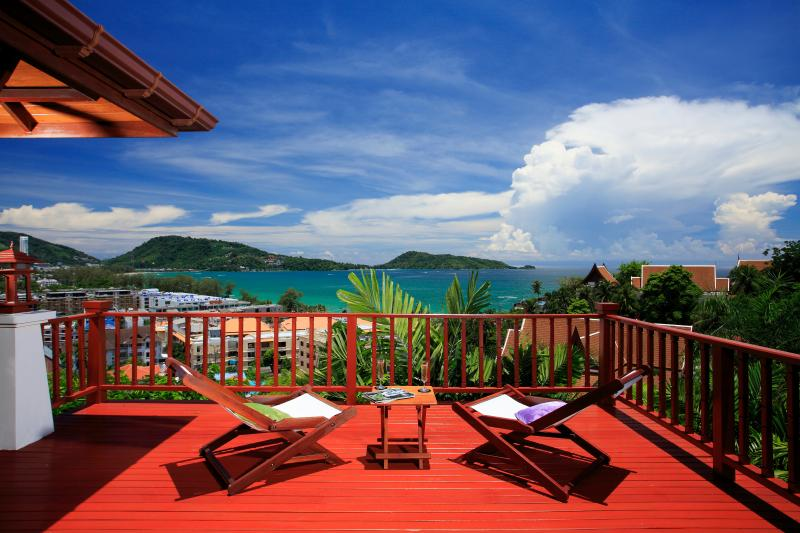Terrace - C7-Penda, L'Orchidee Residences - Patong - rentals