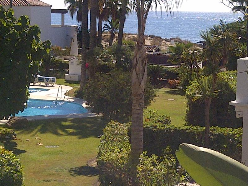 First line development Beach house in Marbella, 3 Bedrooms, 3 bathrooms, sea view terrace, Monteros Beach - Image 1 - Marbella - rentals