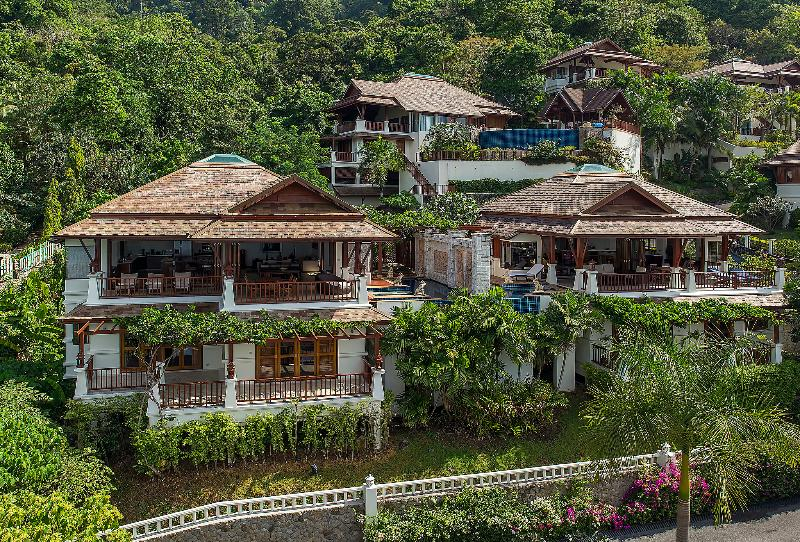 Aerial photo of the villa - C11-La Cigale, L'Orchidee Residences - Patong - rentals