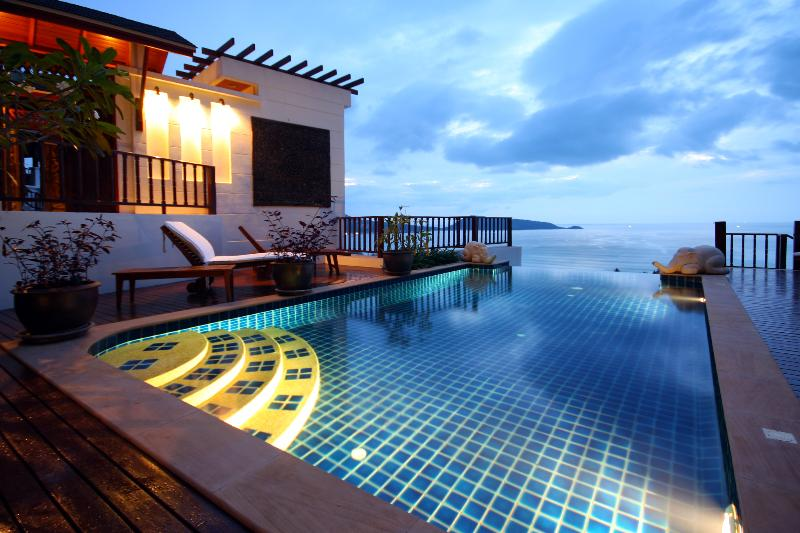 Swimming pool - K12-Miltonia, L'Orchidee Residences - Patong - rentals