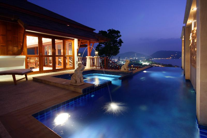 Plunge Pool, Jacuzzi, decking, Terrace - W8-Laelia, - Patong - rentals