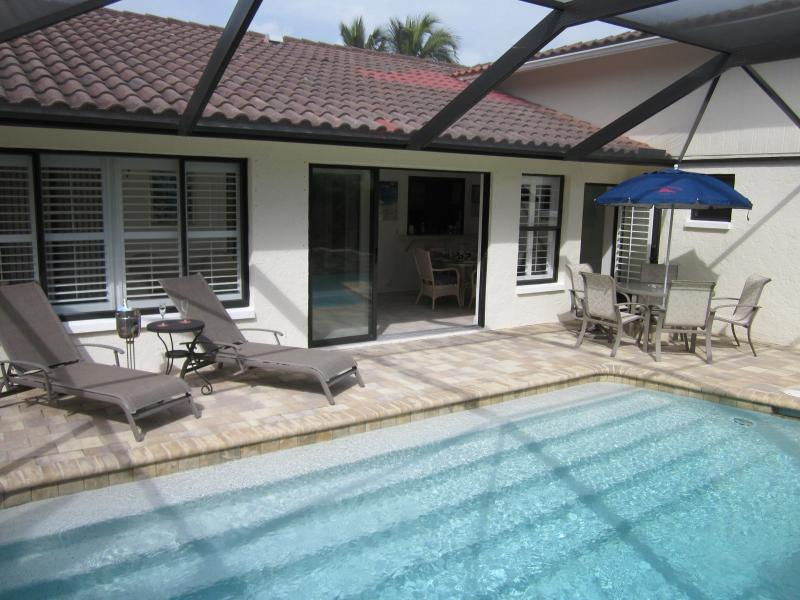 Enjoy your private pool - Stylish villa with swimming pool close to beaches. - Bonita Springs - rentals