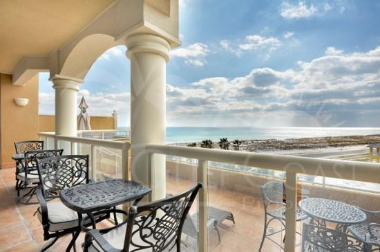 Gulf-Viewing Terrace Suite at Portofino Island Res - Image 1 - Pensacola Beach - rentals