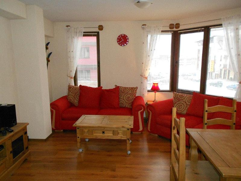 Living Room - 2 bedroom apartment Bansko, Blagoevgrad, Bulgaria. - Bansko - rentals