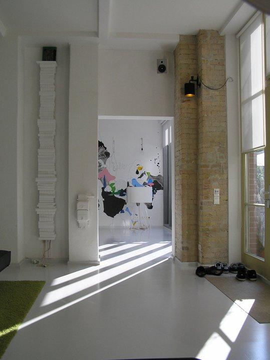 Entrance - Modern Factory Loft Apartment in Center of Berlin - Berlin - rentals