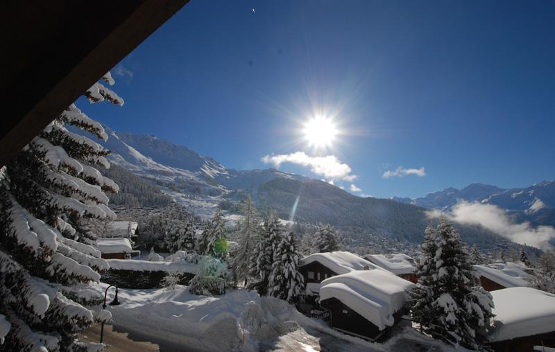 view - in Verbier beautiful attic apartment Panorama view - Verbier - rentals