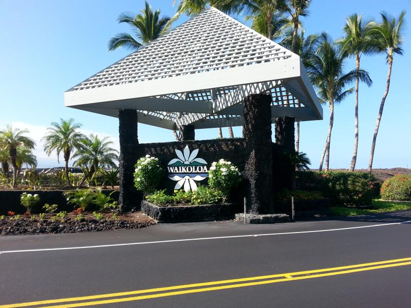 Enterance to the Waikoloa Beach Resort - Waikoloa Beach Resort the Vista Waikoloa - Waikoloa - rentals