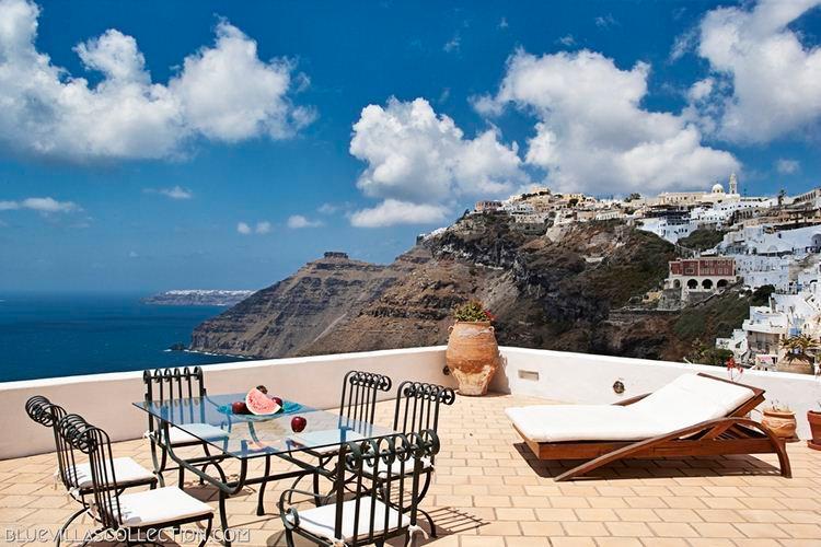 Athina - A luxury 150 m2 villa in Santorini - Fira - Image 1 - Santorini - rentals
