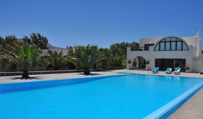 Asteras - Luxurious beachfront villa in Santorini - Image 1 - Santorini - rentals