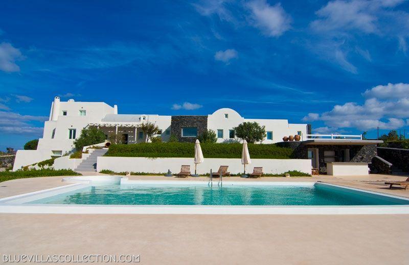 Exterior - Blue Villas |Amberoid |High end luxury villa - Akrotiri - rentals