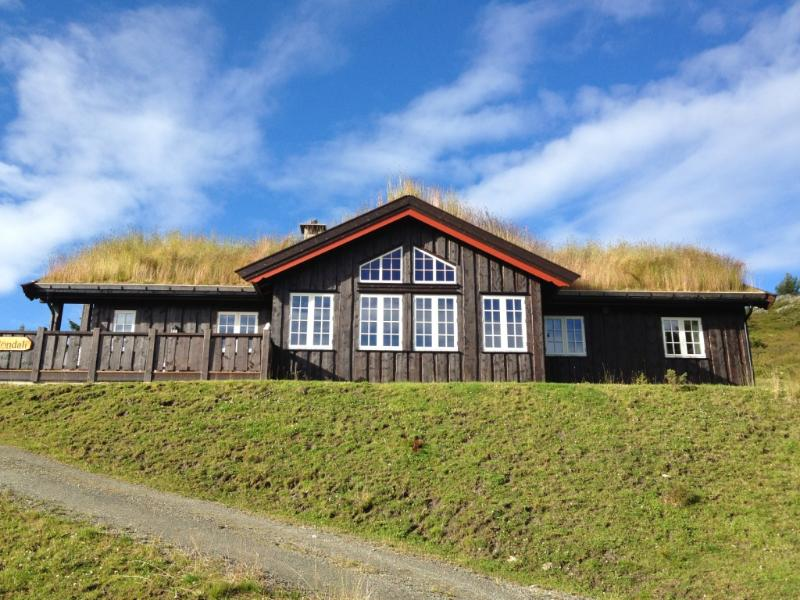Cabin front - Modern mountain cabin with panorama view - Mysuseter - rentals