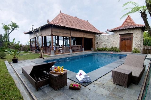 Swimming Pool - Villa Mulyono - Batu - East Java - Indonesia - Batu - rentals