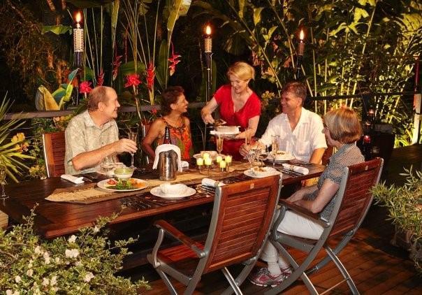 A fine dining experience - Rainforesthouse Kuranda - Kuranda - rentals