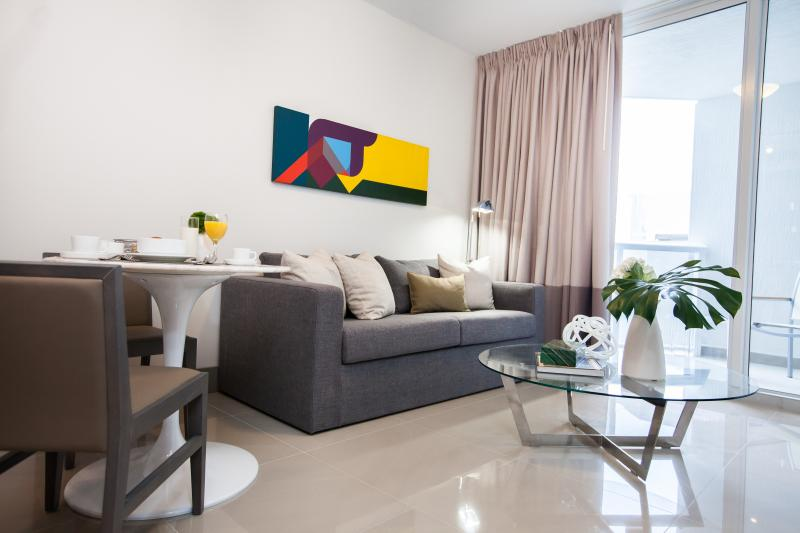Living Room - New and Modern One Bedroom Apartment- Habitat Resi - Coconut Grove - rentals