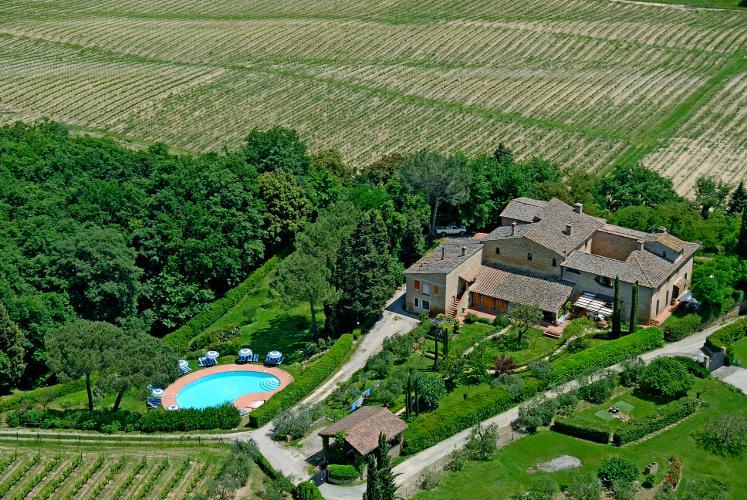 Agriturismo La Ripa  Panoramic view - Agriturismo La Ripa - Ghiri - San Gimignano - rentals