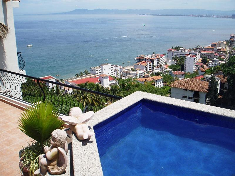 Your private heated dipping pool. - Pent House Suite Summer rate $1,750 for a week. - Puerto Vallarta - rentals