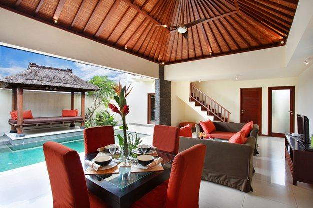 Living Room - Aberu Villas ( Ex The Arradea Villas ) - Bali - rentals