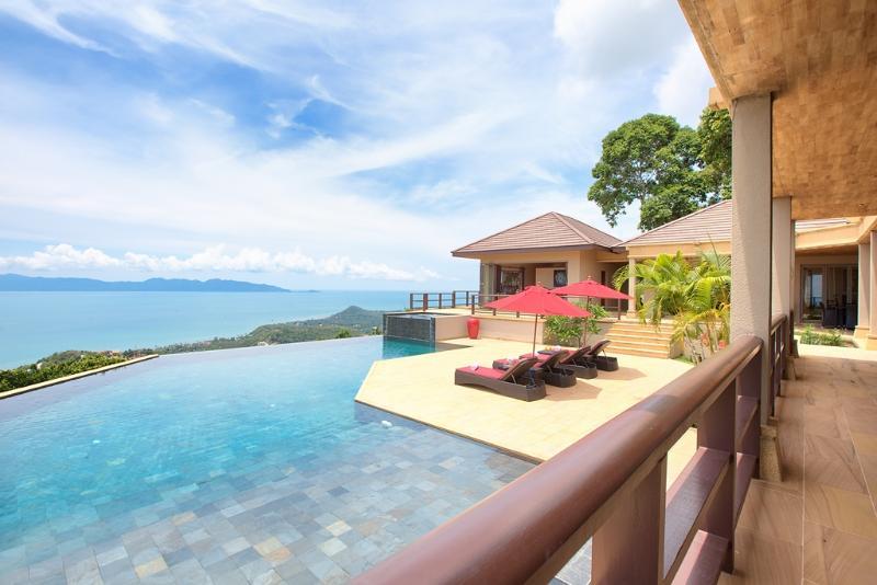 Simply Stunning from every room - Barefoot Luxury stunning ocean infinity pool villa - Koh Samui - rentals
