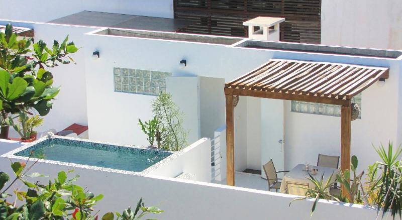 CASA NAAJ, Terrace and relaxing pool - CASA NAAJ, Apartments in the Caribe - Playa del Carmen - rentals