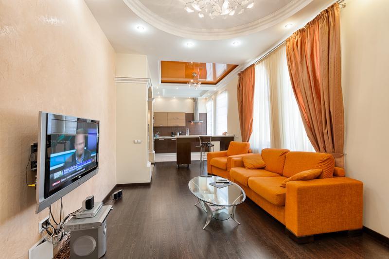 living room - Malaya Zhytomriskaya - Kiev - rentals